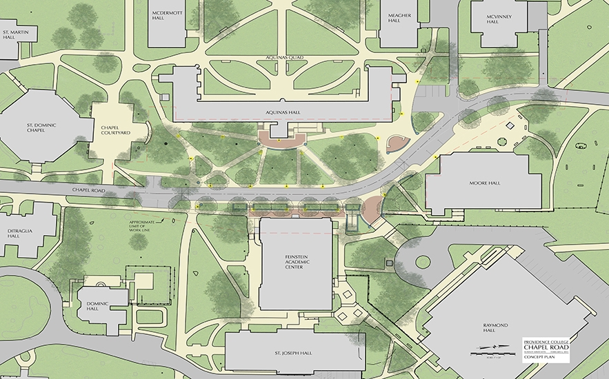 Providence College Map Providence College | Shadley Associates Providence College Map